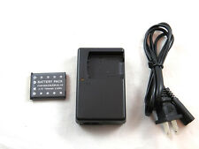 Charger and Battery for Fujifilm FinePix JV100, JV105, JV150, JV200, JV205 JV250