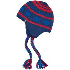 The North Face Boulder Peruvian Beanie Estate Blue/Red Men's One Size Fits Most