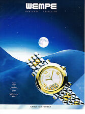 PUBLICITE ADVERTISING  1994   CHOPARD  montre HAPPY SPORT