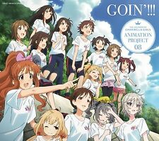 The Idolm@Ster Cinderella Girls Animation Project 08 Goin'!!! Japan CD+Blu-ray