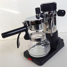 AMA Milano Vintage ITALIAN CHROME ESPRESSO Electric Coffee Maker STAINLESS STEEL