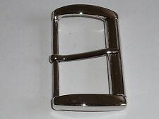 Gürtelschnalle Schließe Rollschnalle  5,9 cm silber  NEUWARE rostfrei #681.2#
