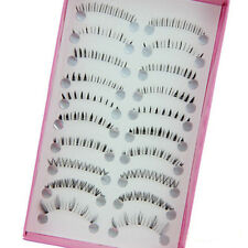 10 Pairs Different Style Lower Under Bottom Eye Lashes Extension False Eyelashes