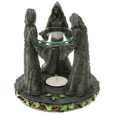 New 3 Crones Witches Oil Burner / MAGIC OIL BURNER / WICCAN-WITCHCRAFT