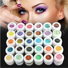 60X Fine Dust Glitter Nail Art Face Body Eye Shadow Craft Paint Iridescent Set