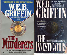 Complete Set Lot of 11 Badge of Honor Books by W.E.B. Griffin (Fiction)
