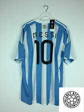 L'argentine messi #10 10/11 * bnwt * home football shirt (xl) soccer jersey adidas