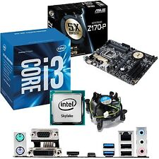 INTEL Core i3 6100 3.7Ghz & ASUS Z170-P - Motherboard & CPU Bundle
