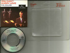 Genesis PHIL COLLINS You can't Hurry love w/ RARE DEMO UK 3 INCH CD single 1982