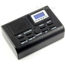 Mini Digital Telephone Call LCD Display With SDCard Slot Phone Voice Recorder YY