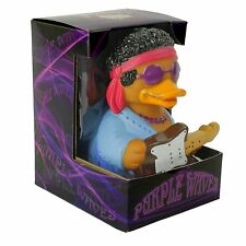 Purple Waves Woodstock CelebriDuck Rubber Duck NIB