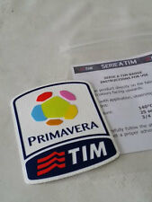 Primavera Tim Juventus Milan Inter Toppa Patch Badge x maglia calcio tg tg Prim