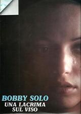 """Bobby Solo : Una lacrima sul viso - vinile 33 giri / 12"""" EX/EX"""