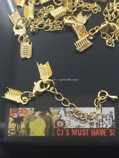 ✤ 3 / 10 SETS NECKLACE BRASS EXTENDER CHAIN RIBBON CORD ENDS & LOBSTER CLASPS ✤