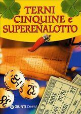 Terni, cinquine e superenalotto - Giunti Demetra - Libro nuovo in offerta !