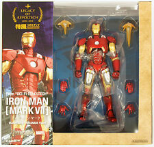 Kaiyodo Legacy of Revoltech LR-041 Iron Man Mark VII Ironman Figure 091017