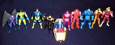 "Toybiz 1994 Steel Mutants X-MEN 2.75"" Diecast Metal Figures - Apocalypse LOT 10"