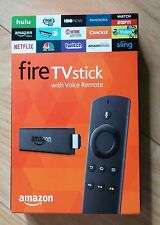 Amazon FIRE TV STICK with Alexa voice remote jailbroken FULLY LOADED!