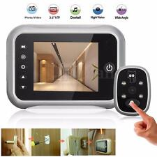 3.5'' LCD Doorbell Peephole Viewer Home Security Camera Monitor IR Night Vision