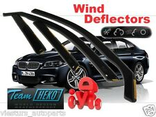 BMW Seria 5 f10 4D 2010-2015 SALOON  Wind Deflectors 4 pcs HEKO (11148)