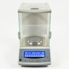 TOP 0.0001G/0.1MG 200 DIGITAL PRECISION SCALE LAB ANALYTICAL BALANCE WITH CE