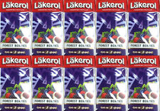 Lakerol Sugarfree Pastilles Forest Berries Candy x 10pcs