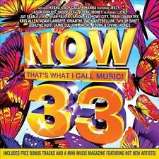 Various Artists Now 33: Thats What I Call Music CD ***NEW***