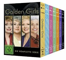 Golden Girls - Staffel 1-7 Komplettbox [DVD] *NEU* Season Staffel 1+2+3+4+5+6+7