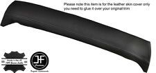 GREY STITCH TOP REAR ROOF LINER PANEL LEATHER COVER FITS MG MGB GT CLASSIC