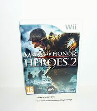 JEU NINTENDO WII COMPLET MEDAL OF HONOR HEROES 2 REF 05