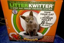 Litter Kwitter (with Instructional DVD) 3-Step Cat Toilet Training System