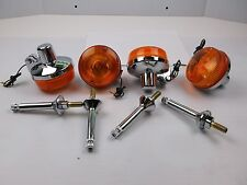 Kawasaki H2B,H2C 750,Z1,KZ  Turn Signal Set,Indicators / 4 Stalks + 4 Signals