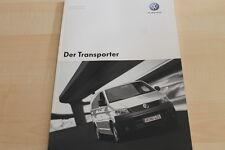 132349) VW Bus T5 Transporter - tech. Daten & Ausstattungen - Prospekt 05/2004