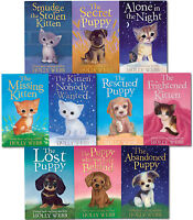 Holly Webb Animal Stories 10 Children Books Collection Set Rescued Puppy, Secret
