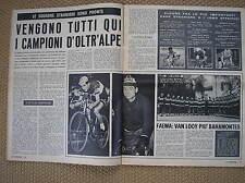 IL CAMPIONE  LE SQUADRE STRANIERE 1960 FAEMA FYNSEC RAPHA KAS MONDIA LICOR 43