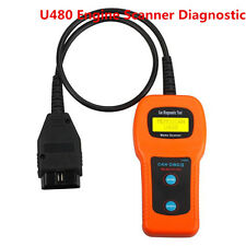 Universal Car Fault Code Reader U480 Engine Scanner Diagnostic OBD2 OBDII ELM327