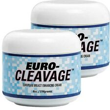 Breast / Butt Enlargement / Enhancement Cream - Euro Cleavage - 2 Bottles