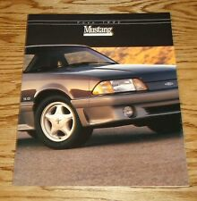 Original 1992 Ford Mustang Catalog Sales Brochure 92 GT 5.0L