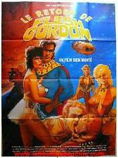 LE RETOUR DE FLESH GORDON Affiche Cinéma / Movie Poster Vince Murdocco