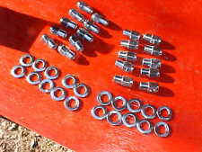 20 cragar uni-lug mag wheel 3/4 shank lug nuts& centered washers,1/2 x 20 ratrod