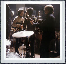 THE BEATLES POSTER PAGE . RECORDING STUDIO  JOHN LENNON GEORGE HARRISON . H69