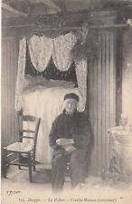 DIEPPE 815 le pollet vieille maison (intérieur) timbrée 1909