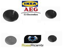 *AEG - IKEA * PIATTELLI SPARTIFIAMMA CUCINA GAS PIANO 4 FUOCHI RICAMBI ORIGINALI
