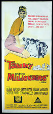 TAMMY AND THE MILLIONAIRE Original Daybill Movie Poster Debbie Watson