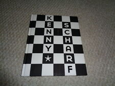 Kenny Scharf hard cover book Kolors 2013 color images black white square cover