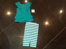 "NWT Juicy Couture New & Gen. Baby Girls 2 Piece Set Age 6/12 MTHS With ""JC"" Logo"