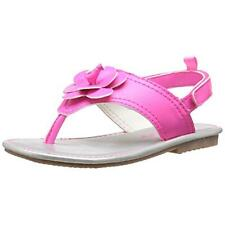 Carters 5819 Girls Nina 2 Pink Toddler Faux Leather Flower Sandals Shoes 9 BHFO