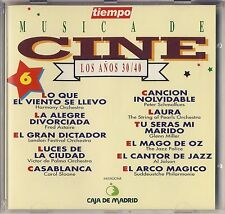 Musica de Cine - Music from the Movies. Vol. 6 (Tiempo, Spain) Like New