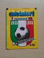 """BUSTINA SIGILLATA DI FIGURINE EDIS """"CAMPIONATO 1985-86"""""""