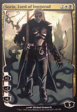 SORIN FULL ART, Lord Of Innistrad Deluxe Planeswalker Mtg Altered